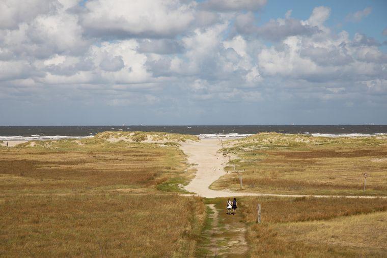 Spiekeroog bietet viele tolle Strände. Der Oststrand ist einer davon.