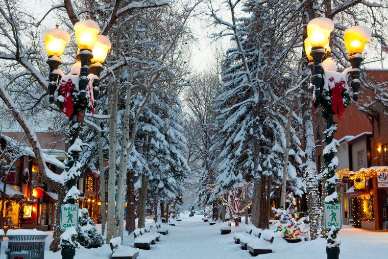 Die Kleinstadt Aspen in Colorado gilt als beliebtes Ziel der Reichen und Schönen.