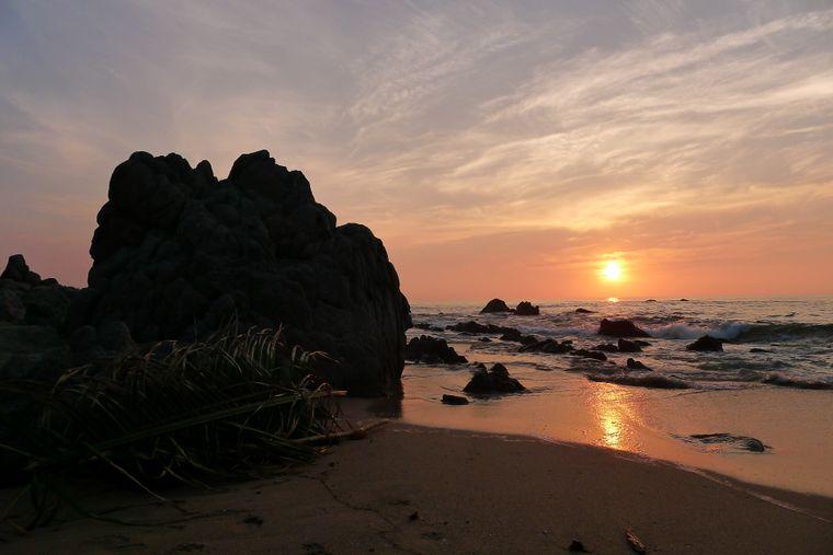 Wenn der Sonnenuntergang Sayulita in alle Farben der Rotpalette taucht, wirst du die Magie dieses Ortes spüren.