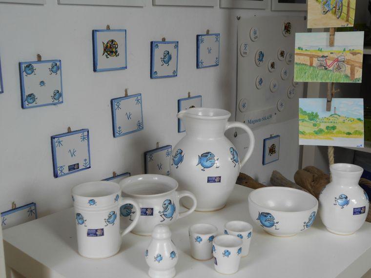 Auf Hiddensee gibt es viele Kreative und Künstler.