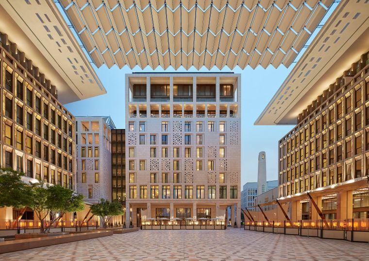 Platz fünf der besten Hotels des Jahres geht an das Luxus-Hotel Mandarin Oriental in Doha.