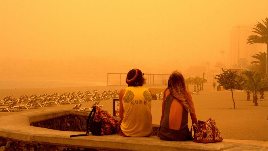 Die Calima auf den Kanaren ist der schlimmste Sandsturm seit etlichen Jahren.