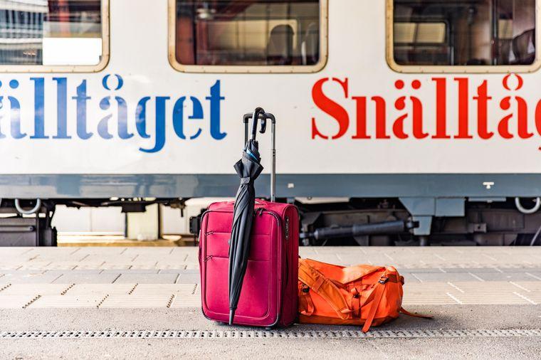 Der Snälltåget bringt Reisende aus Deutschland bis nach Schweden.