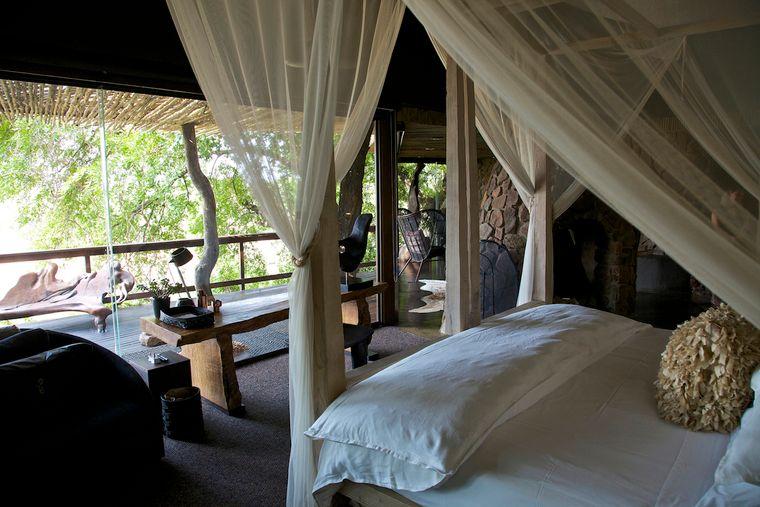 In den Singita-Luxus-Lodges schläfst du luxuriös.