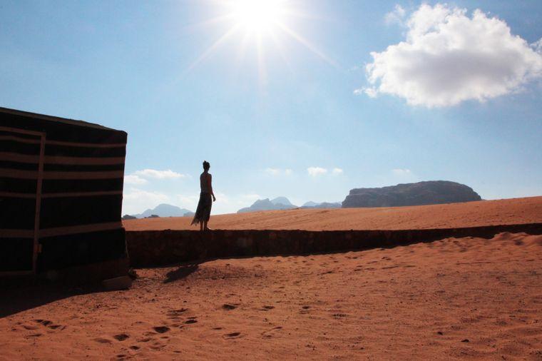 Wüsten-Abenteuer in Jordanien.