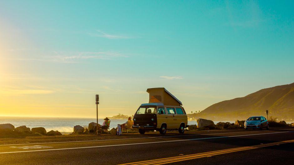 Zu Hause ist, wo du es parkst – auch heute findest du den T3 California noch an den Küsten dieser Welt.