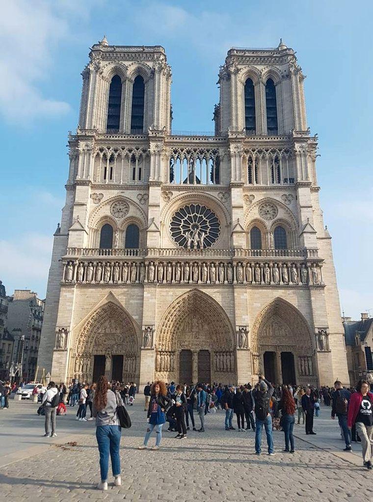 Anja Thiele hat die beiden Haupttürme der Kathedrale abgelichtet.