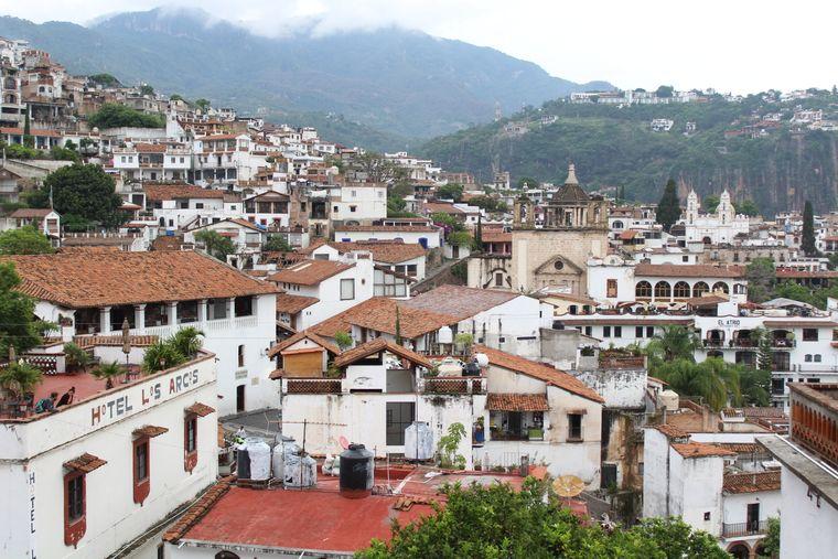 Schon der Ausblick über Taxco ist pure Magie.