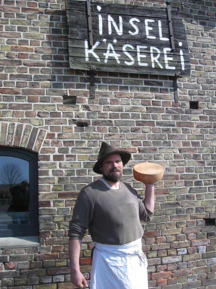 Käse nach Handarbeit von Steffen Schultze ist ein echter Usedomer Geheimtipp.