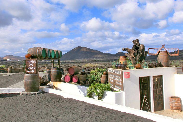 Lecker Tapas in la Geria auf Lanzarote.