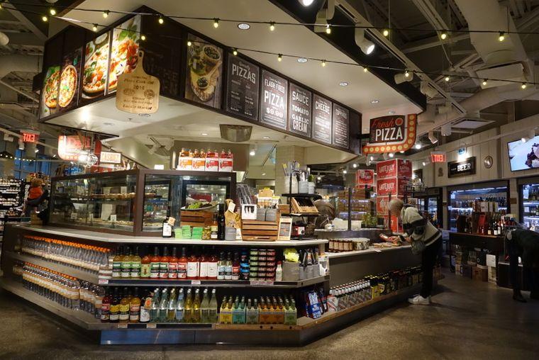 """Der """"Locale Market"""" ist eine Markthalle nach europäischem Vorbild mitten in Florida."""