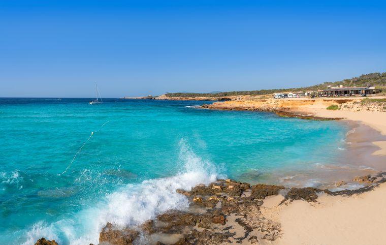 Strand Cala Conta, Ibiza