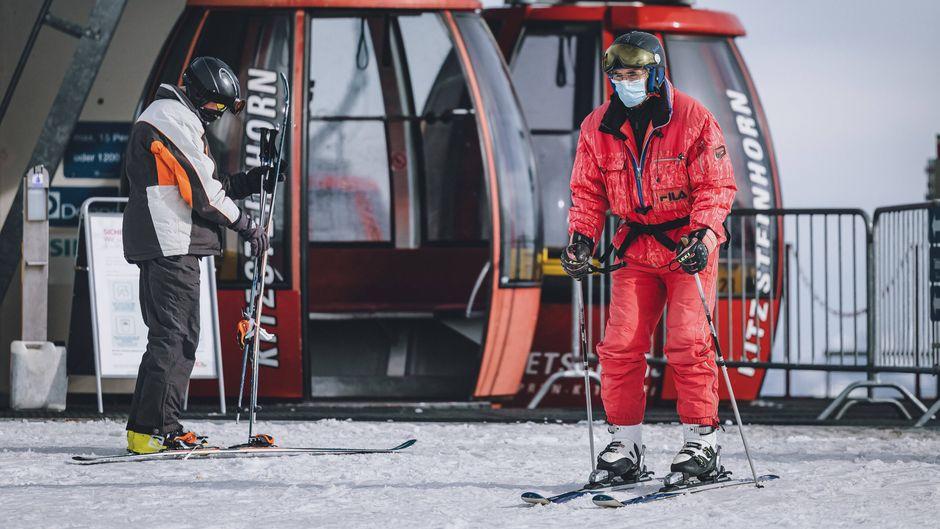 Die Ski-Gebiete in Deutschland, Österreich und der Schweiz bereiten sich trotz Pandemie auf die Wintersaison vor. (Symbolbild)