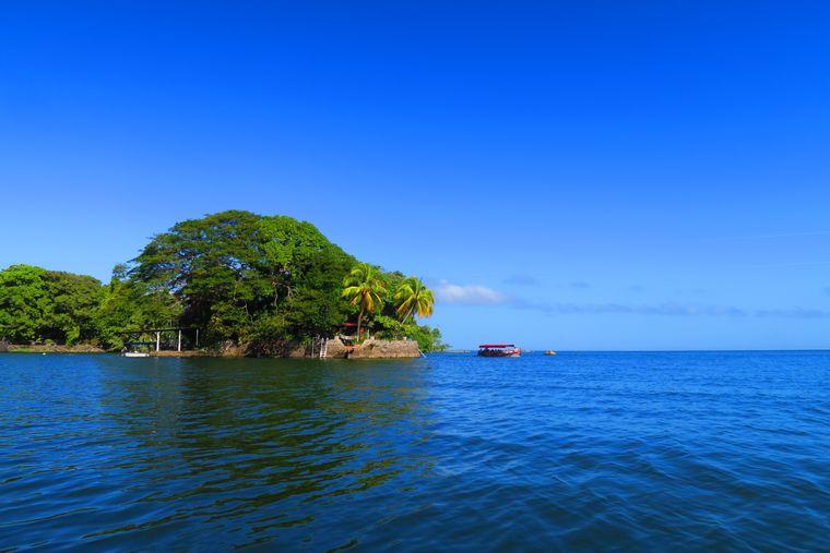 Insel im Nicaraguasee