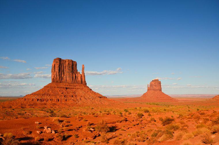 """Das Monument Valley in Utah war Drehort für """"Spiel mir das Lied vom Tod"""""""