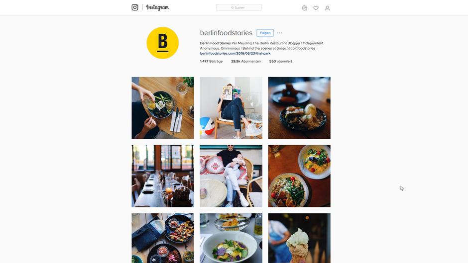 Foodstories auf Instagram!