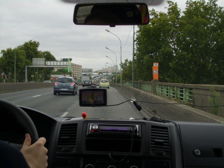On the road again: Bei einem Roadtrip bist du halt viel unterwegs.