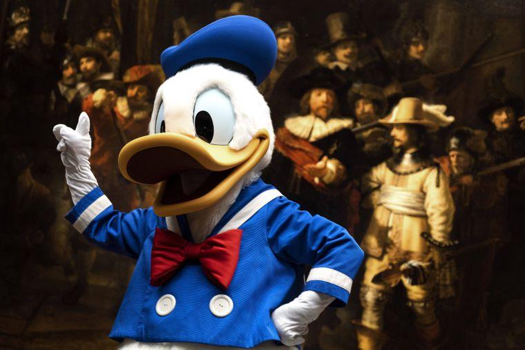Donald Duck darf an Weihnachten auf dem Bildschirm mancherorts nicht fehlen.
