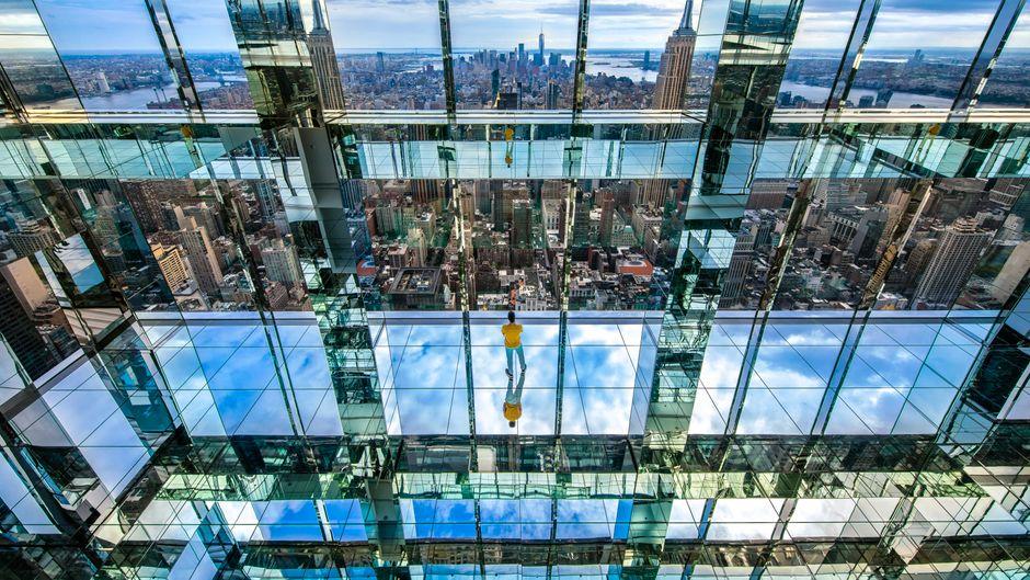 Das Summit One Vanderbilt wird am 21. Oktober im One Vanderbilt Tower in Manhattan eröffnet.