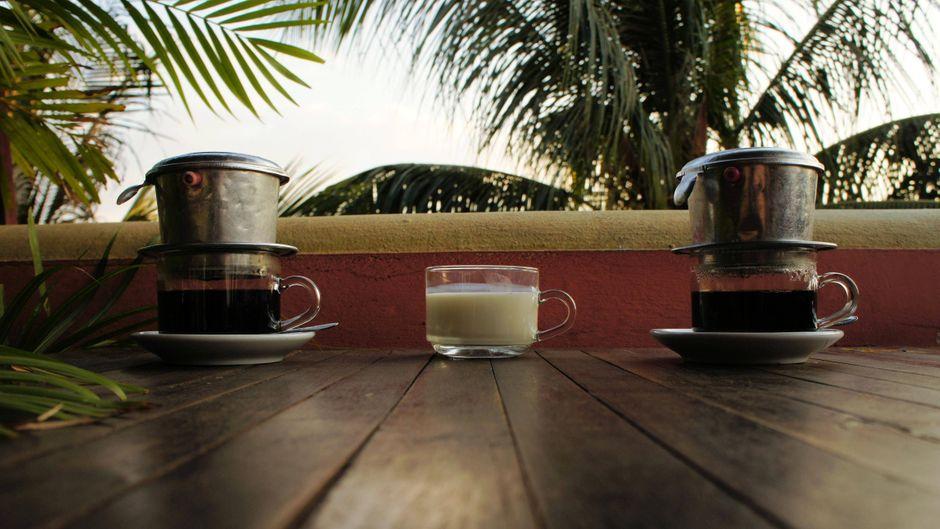 Kaffe wird nach vietnamesischer Art zubereitet. (Symbolbild)