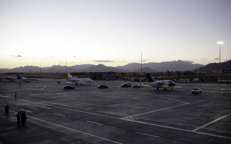 Flughafen Scharm El-Scheich.