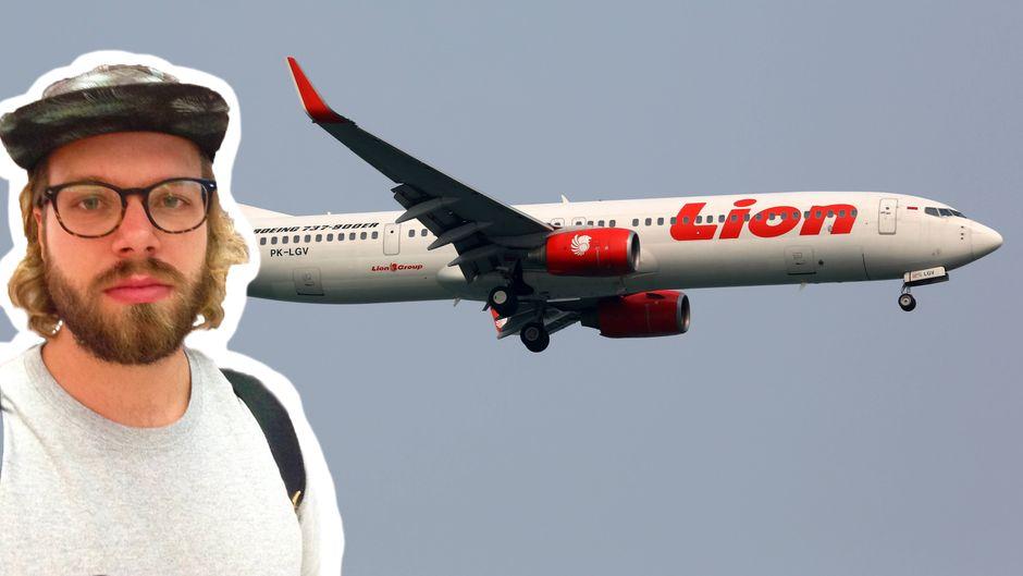 Völlig ermüdet und entnervt: Mein Flug mit der Unglücks-Airline Lion Air ging nicht spurlos an mir vorbei.