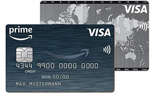 Die Amazon VISA Kreditkarte.