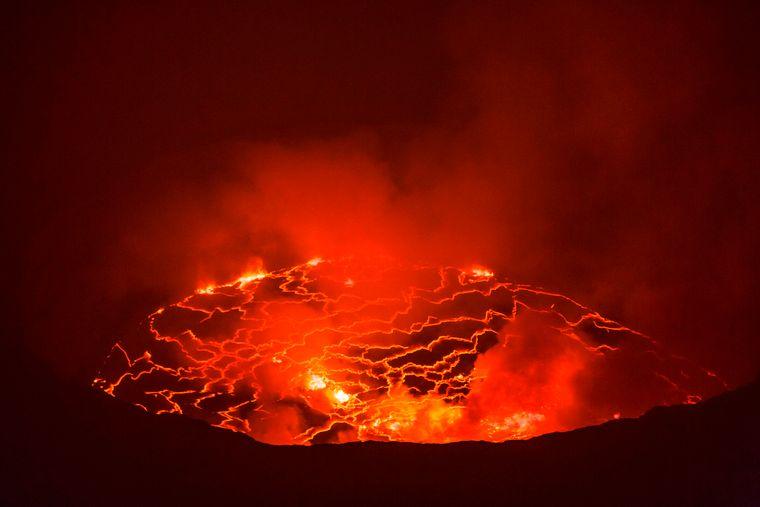 Der Mount Nyiragongo ist ein beliebtes Reiseziel bei vielen Wanderern.