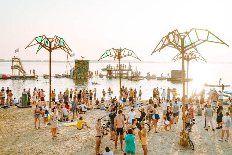 Abenteuerspielplatz des About You Pangea Festivals