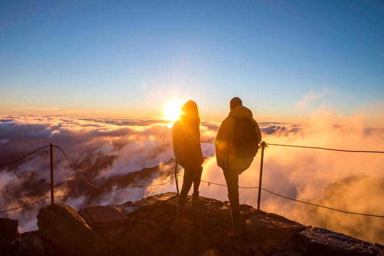 Ob über steile Küstenwege, hinauf in die Berge oder über mondähnliches Gefilde – Madeira ist ein Wanderparadies schlechthin.