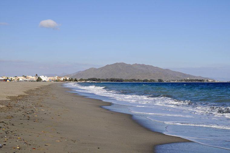 Playa El Playazo: der seichte Strand.