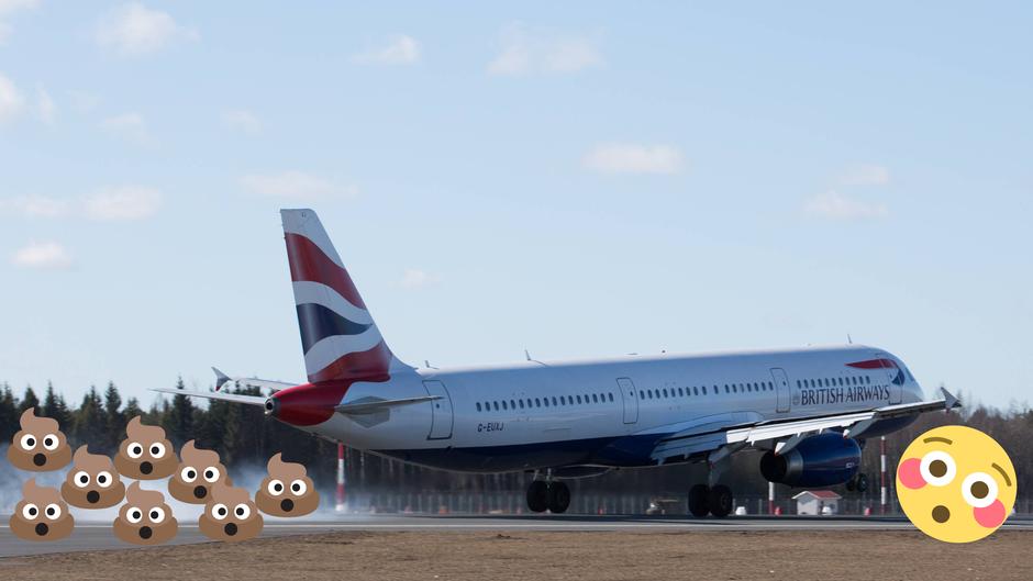 Ein Flugzeug startet vom Flughafen London-Heathrow.