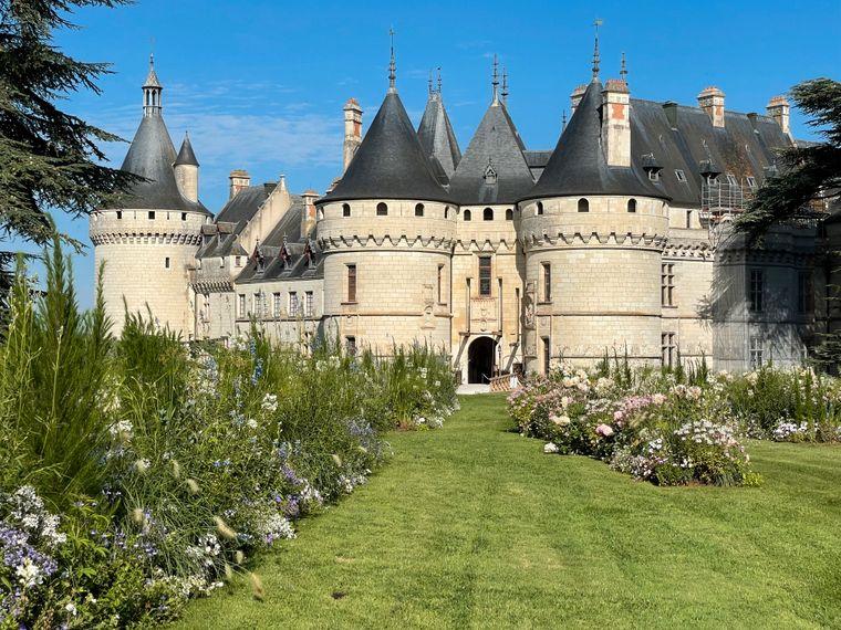 Das Château de Chaumont-sur-Loire ist bekannt für sein jährliches internationales Gartenfestival.