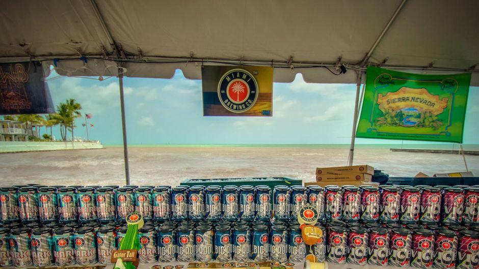 Brewfest auf Key West in Florida.