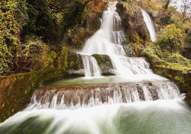 Die wunderschönen Wasserfälle von Edessa.