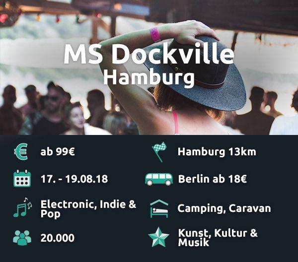 Das MS Dockville verbindet Musik und Kunst.