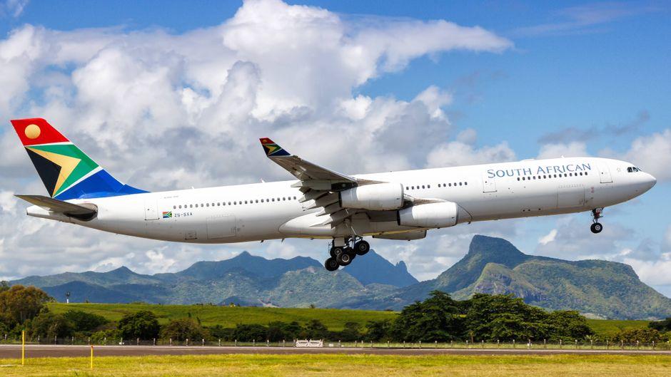 Flugzeuge der South African Airways fliegen am März nicht mehr nach München.
