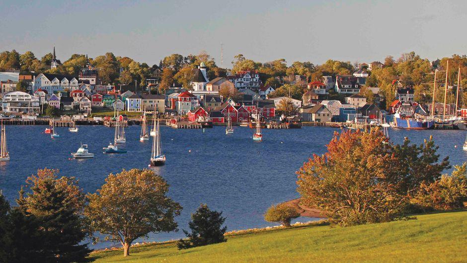 Lunenburg südwestlich von Halifax ist Kanadas älteste deutsche Siedlung. Die kleine Hafenstadt hat eine lange Schiffbau- und Fischereitradition.