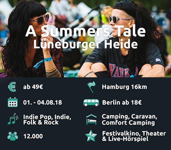 A Summer's Tale ist mit Abstand das günstigste Festival im Preischeck.