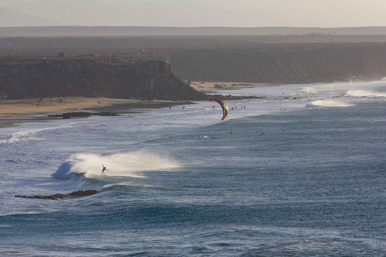 Kite-Surfer in El Cotilli