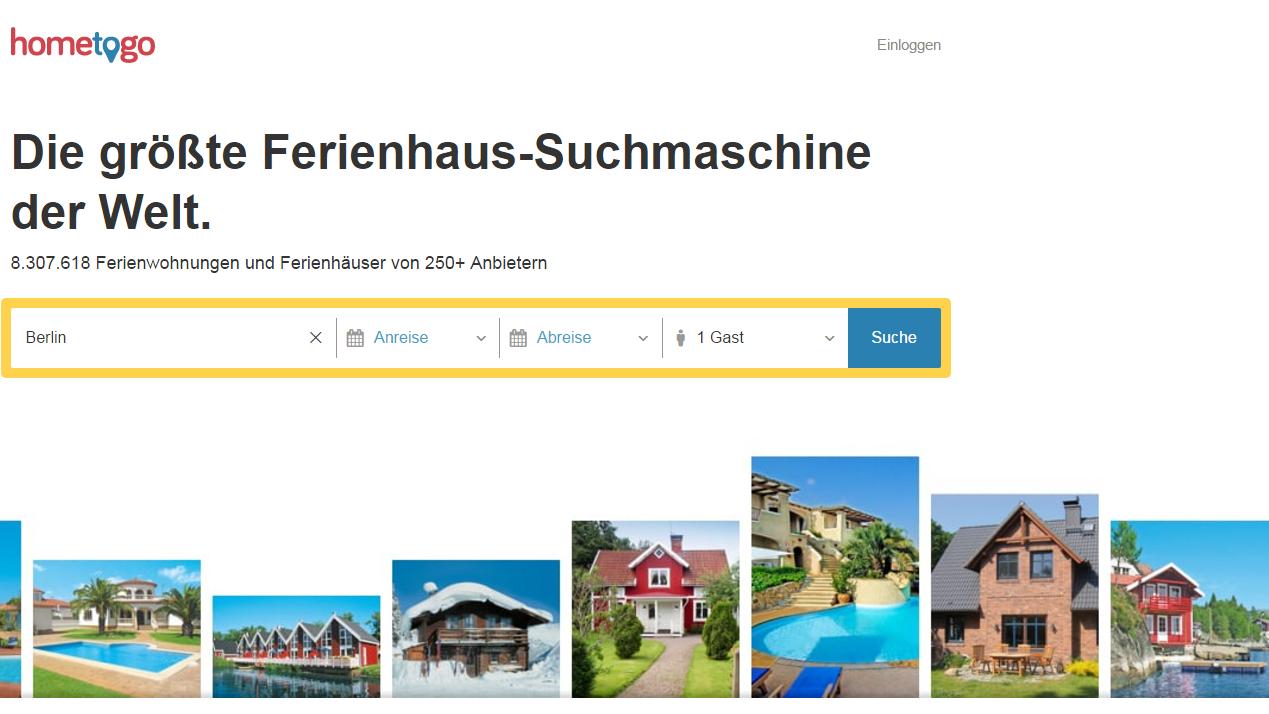 hometogo.de versus Airbnb   reisereporter.de