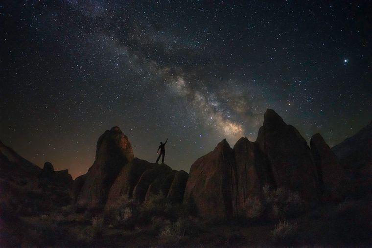 Was für ein Sternenhimmel! Nayana Rajesh (16) aus den USA hat mit seiner Serie der Nachthimmel den zweiten Platz in der Kategorie der 15- bis 18-Jährigen belegt. Dieses Bild entstand in Abiquiu in New Mexico.