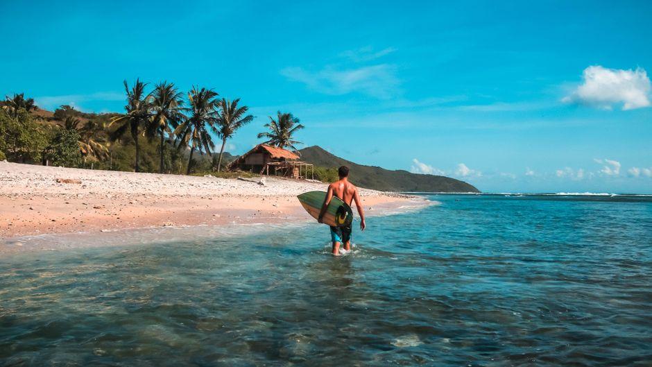 Dieser hübsche Strand auf Lombok hat es nicht ins Ranking geschafft. Aber die Nachbarinsel Bali ist dabei. (Symbolfoto)