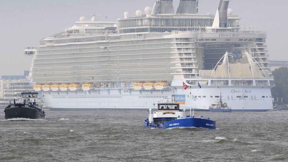 Mehr als 270 Passagiere des Royal-Caribbean-Kreuzfahrtschiffes hatten mit Durchfall und Erbrechen zu kämpfen. (Symbolfoto)