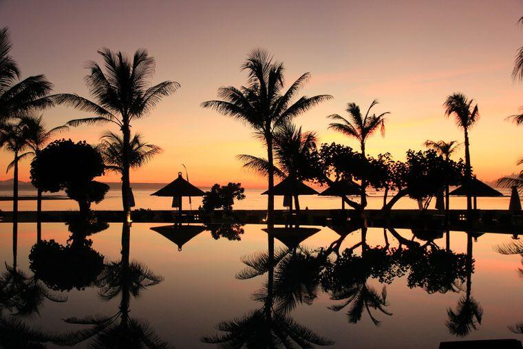 Bei den Fernreisen werden Urlaube in Indonesien mehr nachgefragt. Ein besonders beliebtes Ziel ist Bali.