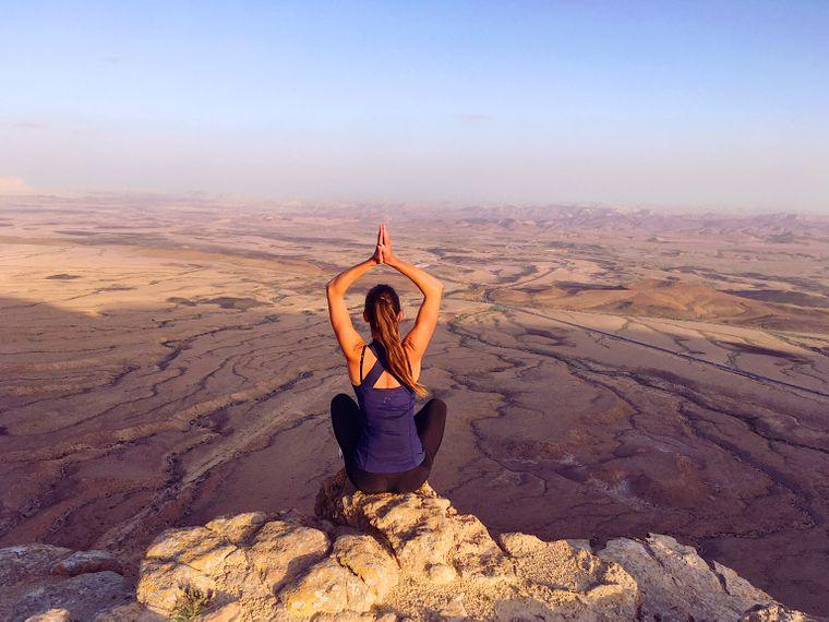 Die russischen Touristen erkundeten während der Corona-Krise so die abwechslungsreiche Natur Israels.