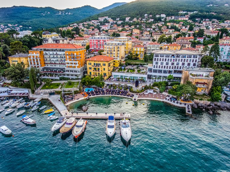 Amadria Park Hotels in Opatija.