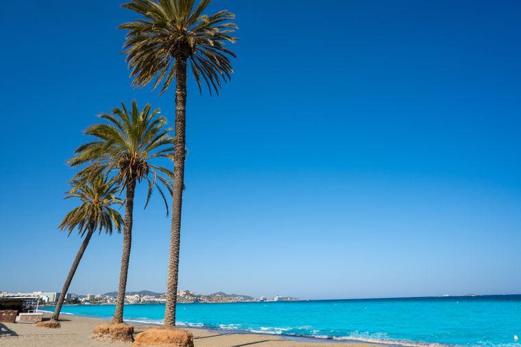 Strand Playa den Bossa, Ibiza