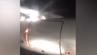 Handyvideos von Passagieren des Flugs WZ808 von Ufa nach Sotschi (Russland) zeigen das brennende Triebwerk.