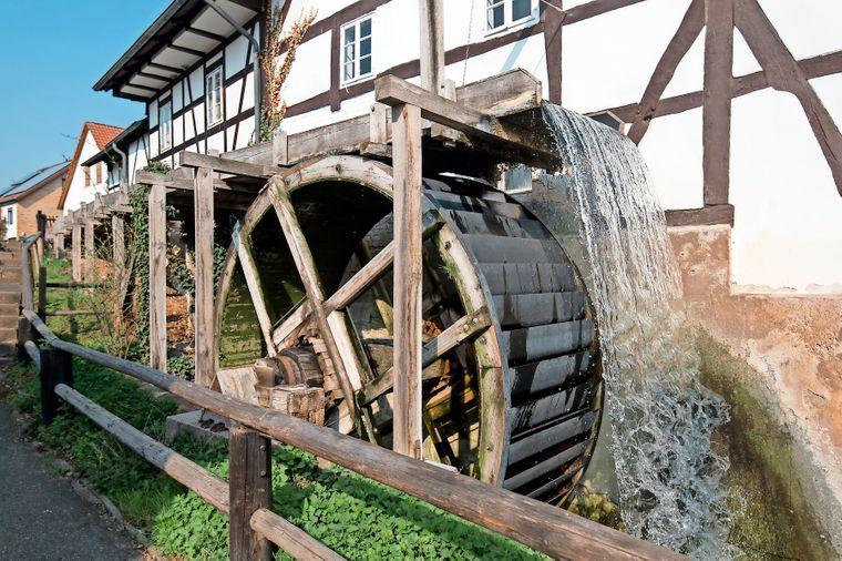 Außenansicht der Wilhelm-Busch-Mühle.